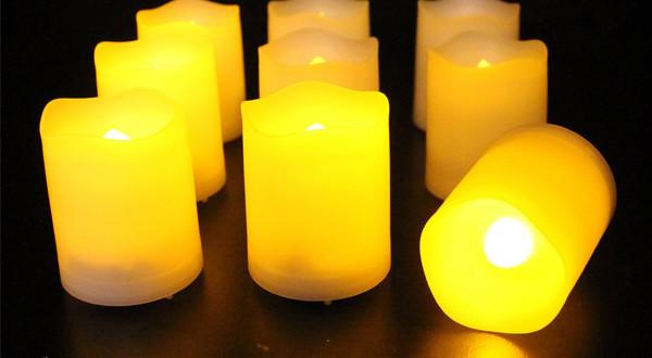 Patz 2: LED Kerzen Test von Frostfire